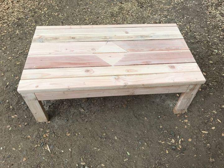 DIY Outdoor Coffee Table   Hometalk