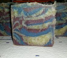 homemade seawater soap