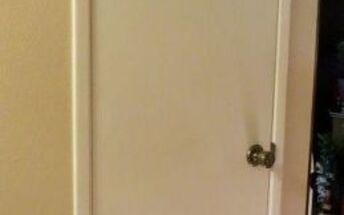 pantry door make over from original door