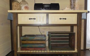 television console table