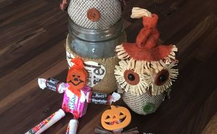 harvest candy scarecrows dollar store craft