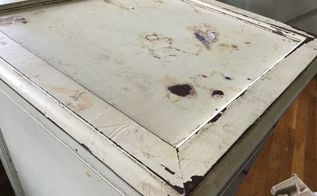 q what is the best way to remove faux antique paint it won t budge