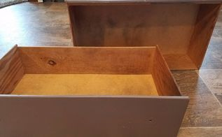 diy turn old drawers into shelves