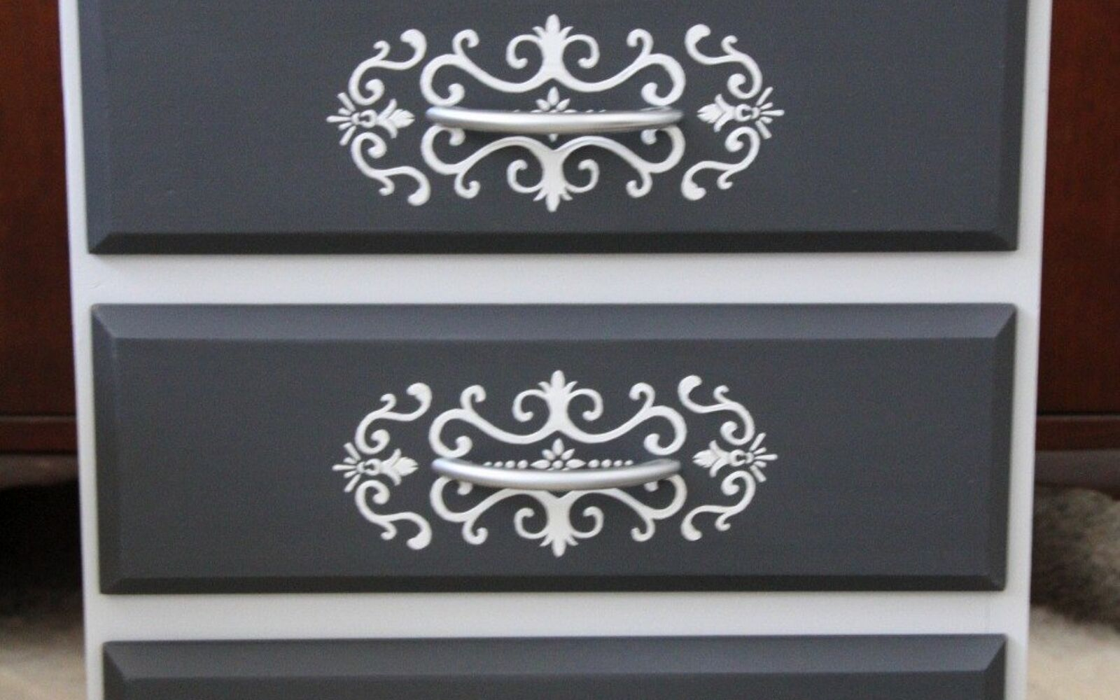 s 14 glamorous ways to upgrade your home using stencils, Using Embossing Paste to Enhance Your Stencil