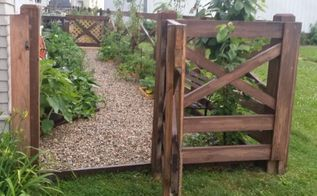 how to create a beautiful ranch style fence
