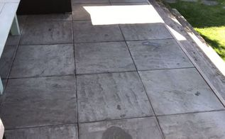 clean a stone patio naturally