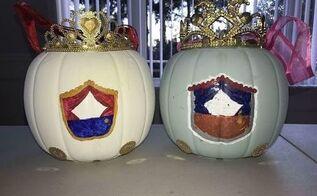 halloween pumpkin candy bucket makeover