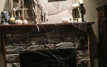 a witch lives here how to transform your living room for halloween