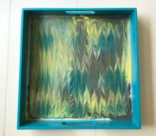 try this pretty marbling diy with envirotex lite resin