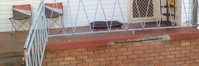 q hi how do i fix my front patio