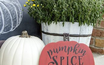 pumpkin spice everything nice sign