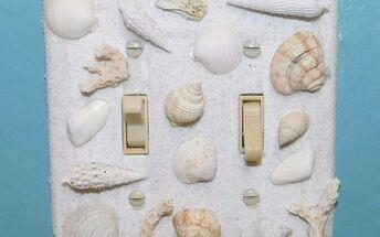 seashell switch plates