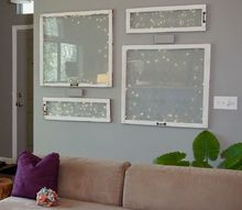 how to decorate with vintage windows