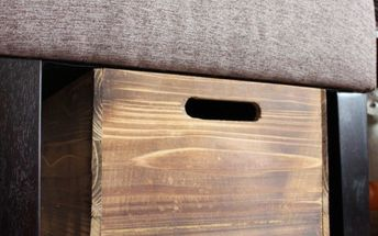 rustic pet toy box for under 15