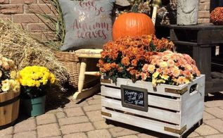 diy fall crate