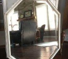 fresco textured mirror