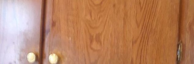 q can presswood cabinets be painted i think they have a veneer on them