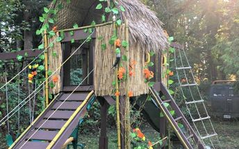 jumanji inspired tree house