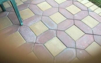 q what s the best way to clean outside pavers and what can i put on