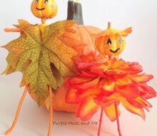 pumpkin head wire dolls diy