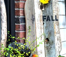 fast fall scrap wood pumpkin sign within an hour