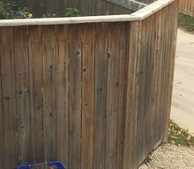 q what kind of finish should i put on my pressure treated wood fence