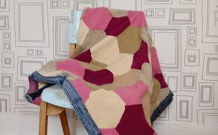 recycled gorgeous cozy fall blanket