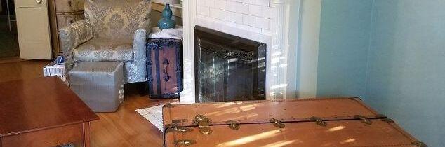 q repurpose steamer trunk help me decorate