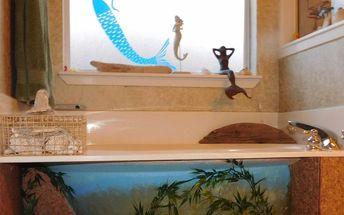 under the sea under the bath tub