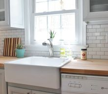 our gray and white kitchen makeover