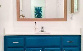 50 dollar bathroom makeover
