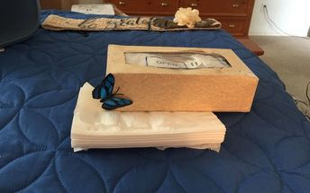 tissue box to reusable wipes box, A touch of whimsey