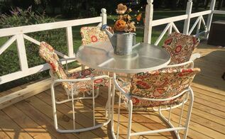 new life to old patio set