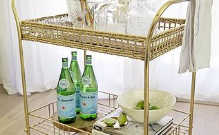 trash bar cart made classy in one easy step