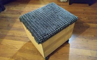 rolling footstool