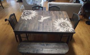 stain shaded high top table