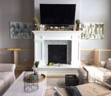 built ins around the fireplace part 1