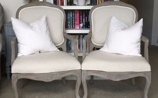 driftwood armchairs