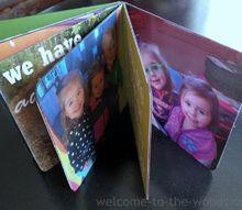 diy photo board book with mod podge