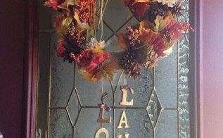 autumn wreath, I like it Not bad for a rookie