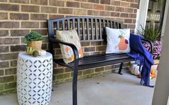 simple fall porch decorating tips