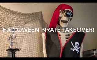 diy pirate halloween decor