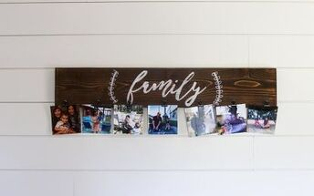 easy diy photo display