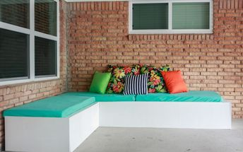 how to make a pallet couch