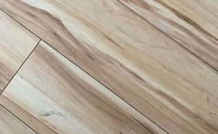 q can laminate floors be varnished a different colour