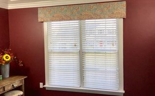fifteen minute upholstered valance
