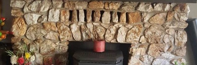 q whats behind my rock fireplace how do i remove it