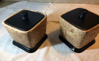 faux leather containers