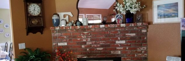q i don t like my corner fireplace any ideas how to change it up
