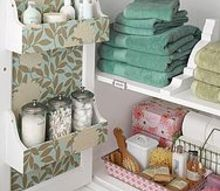 the do s and dont s for decorating the guest bath, bathroom ideas, home decor, An organized and clean cabinet space Image via Pinterest